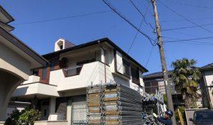 T様邸 屋根塗装、雨樋交換