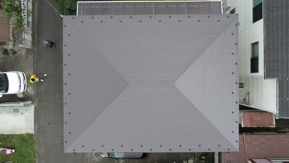 H様邸 屋根カバー工法、外壁塗装工事